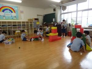 久しぶり!の幼稚園